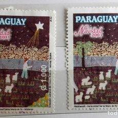 Sellos: PARAGUAY, 2 SELLOS SIN USAR . Lote 143021586