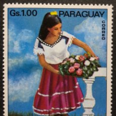 Sellos: SELLO NUEVO DE PARAGUAY 1.00GS- DANZA FOLKLORICA **. Lote 147775881