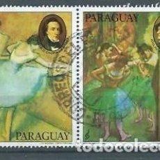 Sellos: PARAGUAY,DOS VALORES, COMPOSITORES Y MÚSICOS,1980,YVERT 1767-1768,USADOS, MUY RAROS. Lote 149185866