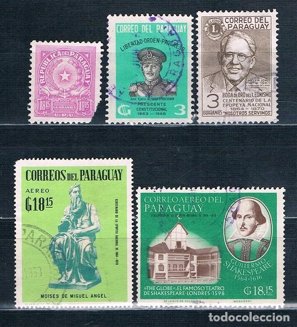 SELLOS SUELTOS DE PARAGUAY (Sellos - Extranjero - América - Paraguay)