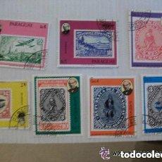 Sellos: LOTE DE 7 SELLOS DE PARAGUAY : FILATELIA.. Lote 150586634