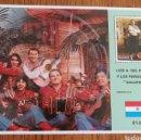 Sellos: PARAGUAY :MÚSICA, LUÍS ALBERTO DE PARANÁ AÑO 1989,INCLUYE GRAVACION DE GALOPERA.. Lote 154253110