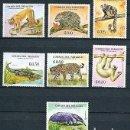 Sellos: PARAGUAY,1969,FAUNA,YVERT 993-999,NUEVOS, MNH**. Lote 155914418