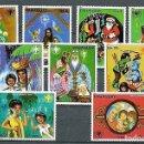 Sellos: PARAGUAY,1980,NAVIDAD,NUEVOS,MNH**,YVERT 1770-1776 Y 841-842 AÉREO. Lote 156462314