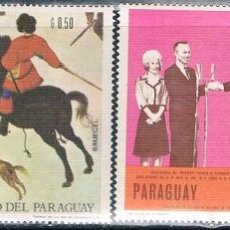 Sellos: PARAGUAY 1967 / 68 - MICHEL 1759 + 1817 + 1819 + 1828 ( ** ). Lote 160241462