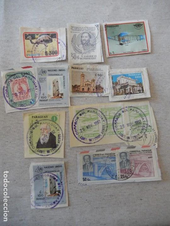 LOTE SELLOS PARAGUAY (Sellos - Extranjero - América - Paraguay)