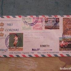 Sellos: SOBRE CIRCULADO 1987 PARAGUAY. Lote 164959210