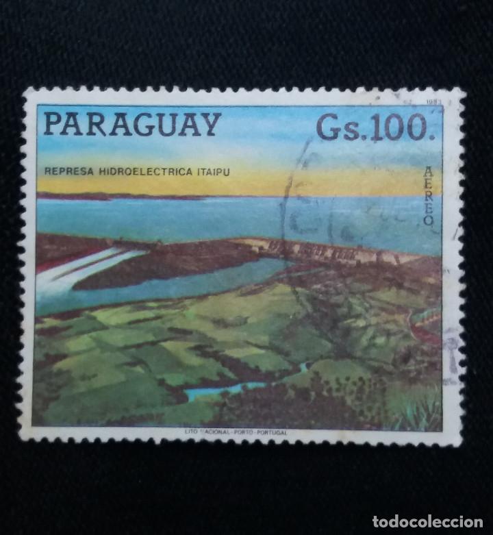 PARAGUAY, 100 GUARANIES, PRESA ITAIPU, AÑO 2006. (Sellos - Extranjero - América - Paraguay)