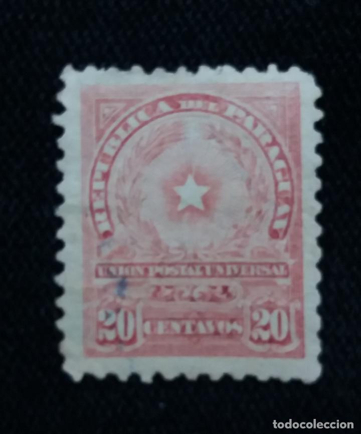 PARAGUAY, 20 GUARANIES, AÑO 1957. SIN USAR. (Sellos - Extranjero - América - Paraguay)