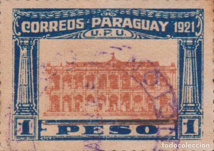 SELLO PARAGUAY USADO FILATELIA CORREOS (Sellos - Extranjero - América - Paraguay)
