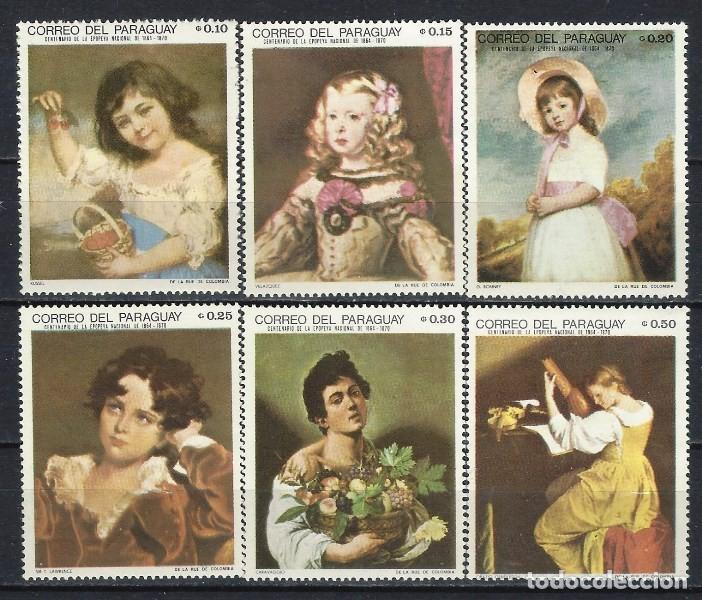 PARAGUAY 1968 - NIÑOS EN PINTURAS,S.COMPLETA - SELLOS NUEVOS ** (Sellos - Extranjero - América - Paraguay)