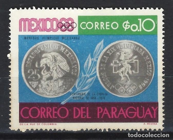 PARAGUAY 1968 - EVENTOS DEL AÑO 1968 - SELLO NUEVO C/F * (Sellos - Extranjero - América - Paraguay)