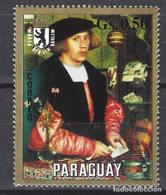 PARAGUAY 1975 - PINTURA DEL MUSEO DE BERLÍN - SELLO NUEVO ** (Sellos - Extranjero - América - Paraguay)