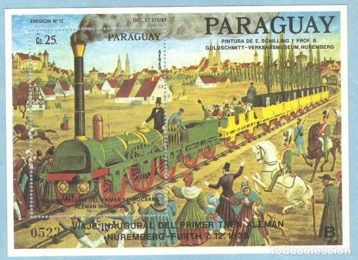PARAGUAY,1985?HOJITA NUEVO. GOMA ORIGINAL ALGO DETERIORADA,SIN FIJASELLOS. (Sellos - Extranjero - América - Paraguay)