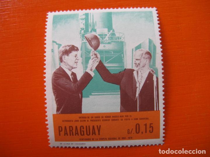 PARAGUAY, SELLO NUEVO SIN FIJASELLOS (Sellos - Extranjero - América - Paraguay)