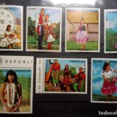 Selos: TRAJES TÍPICOS, TRADICIONES. Lote 190272587