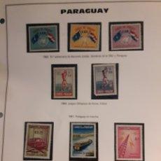 Sellos: SELLOS DEL MUNDO PARAGUAY. Lote 190478725