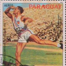 Sellos: SELLO PARAGUAY USADO FILATELIA CORREOS STAMP POST POSTAGE. Lote 192676205