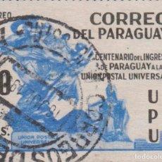 Sellos: SELLO PARAGUAY USADO FILATELIA CORREOS STAMP POST POSTAGE. Lote 192676301