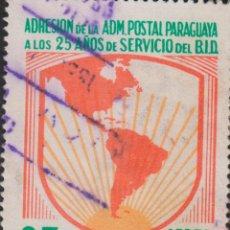 Sellos: SELLO PARAGUAY USADO FILATELIA CORREOS STAMP POST POSTAGE. Lote 192678538
