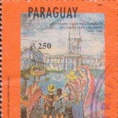 Selos: SELLO PARAGUAY USADO FILATELIA CORREOS STAMP POST POSTAGE. Lote 192678591