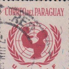Sellos: SELLO PARAGUAY USADO FILATELIA CORREOS STAMP POST POSTAGE. Lote 192683822