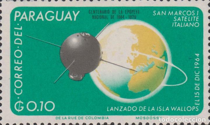 SELLO PARAGUAY USADO FILATELIA CORREOS STAMP POST POSTAGE (Sellos - Extranjero - América - Paraguay)