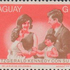 Sellos: SELLO PARAGUAY USADO FILATELIA CORREOS STAMP POST POSTAGE JFK. Lote 192684275