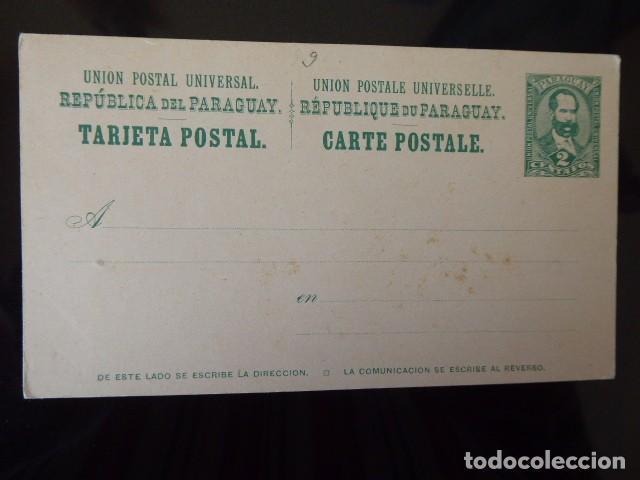 CARTA POSTAL PARAGUAY 1900.NUEVA. DOBLE (Sellos - Extranjero - América - Paraguay)