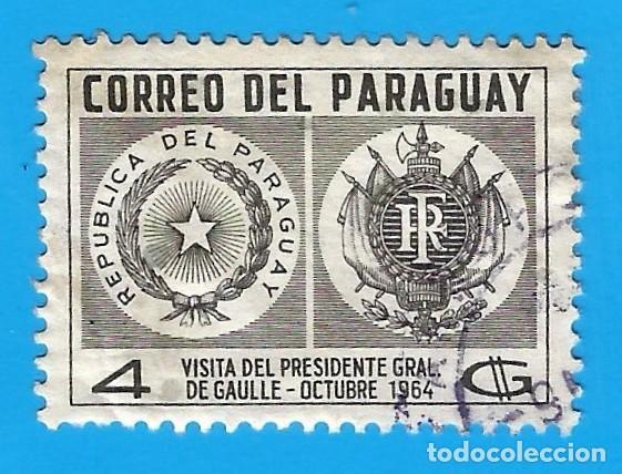 PARAGUAY. 1964. VISITA DEL GRAL. DE GAULLE (Sellos - Extranjero - América - Paraguay)