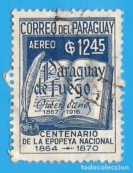 PARAGUAY. 1966. RUBEN DARIO. EPOPEYA NACIONAL (Sellos - Extranjero - América - Paraguay)