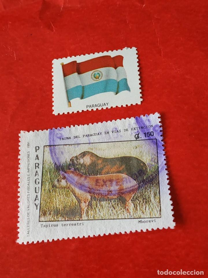 PARAGUAY C (Sellos - Extranjero - América - Paraguay)