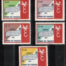 Sellos: PARAGUAY 1961 - EUROPA (**). Lote 217827377