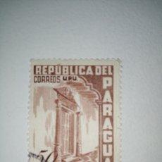 Sellos: L-26 SELLO MATASELLADO DE 50 CTS DE LA REP. DEL PARAGUAY. EL DE LA FOTO. Lote 219288720