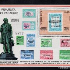 Sellos: PARAGUAY HB 300** - AÑO 1980 - CENTENARIO DE LA MUERTE DE SIR ROWLAND HILL. Lote 220277802