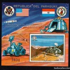 Sellos: PARAGUAY HB 231** - AÑO 1976 - CONQUISTA DEL ESPACIO - VIKING I. Lote 221809262