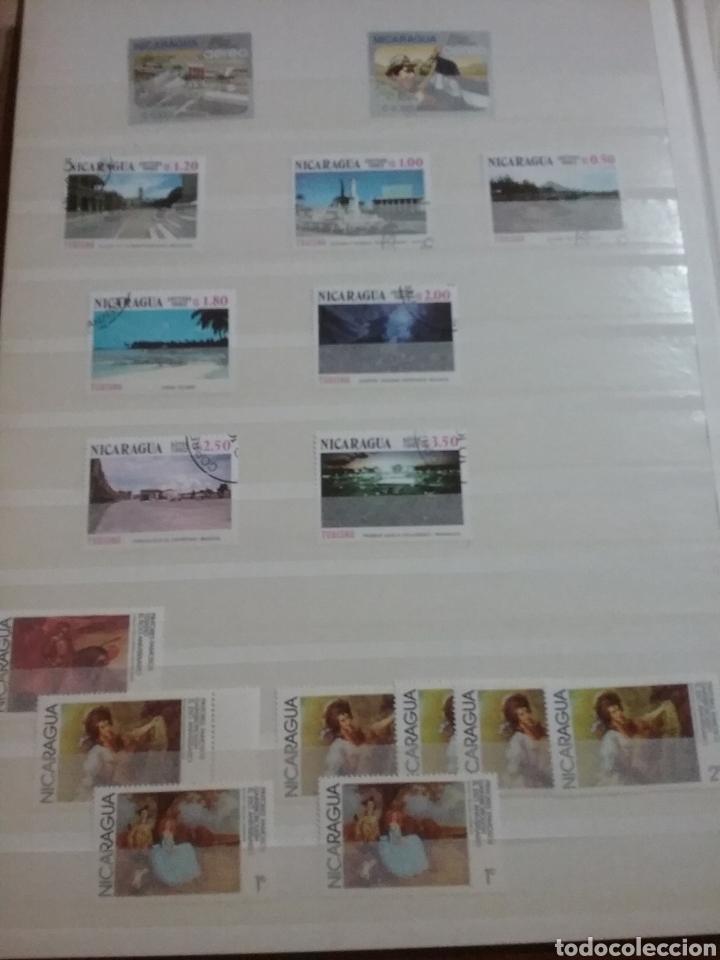 Sellos: Sellos Colección R. Nicaragua mtdos y nuevos/series campletas/década 80/stock/flora/faun/arte/Clasi1 - Foto 4 - 221894743