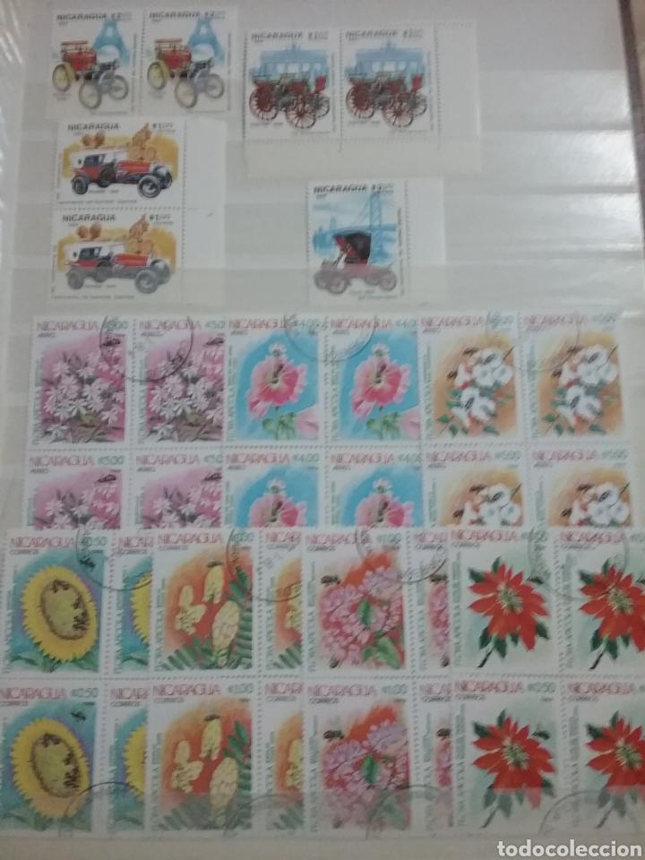 Sellos: Sellos Colección R. Nicaragua mtdos y nuevos/series campletas/década 80/stock/flora/faun/arte/Clasi1 - Foto 11 - 221894743