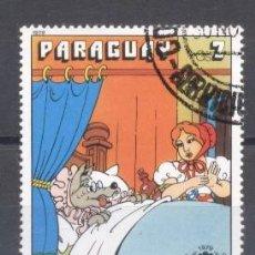 Sellos: PARAGUAY,1978, CAPERUCITA ROJA. Lote 236744110