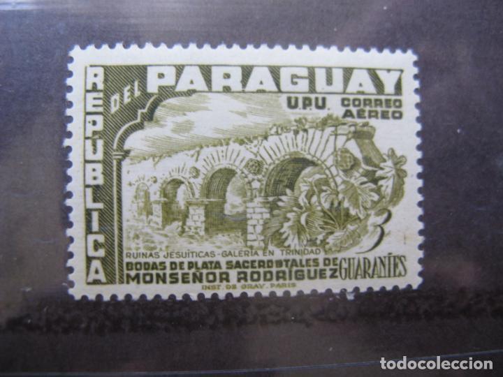 +PARAGUAY, 1955, BODAS DE PLATA SACERDOTALES DE MONSEÑOR RODRIGUEZ, YVERT 218 AEREO (Sellos - Extranjero - América - Paraguay)