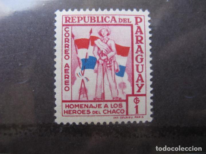 +PARAGUAY, 1957, HOMENAJE A LOS HEROES DE CHACO, YVERT 230 AEREO (Sellos - Extranjero - América - Paraguay)