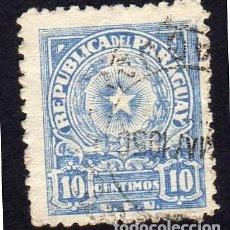 Sellos: AMÉRICA. PARAGUAY, ESCUDO DE ARMAS. YT482. USADO SIN CHARNELA. Lote 253194825