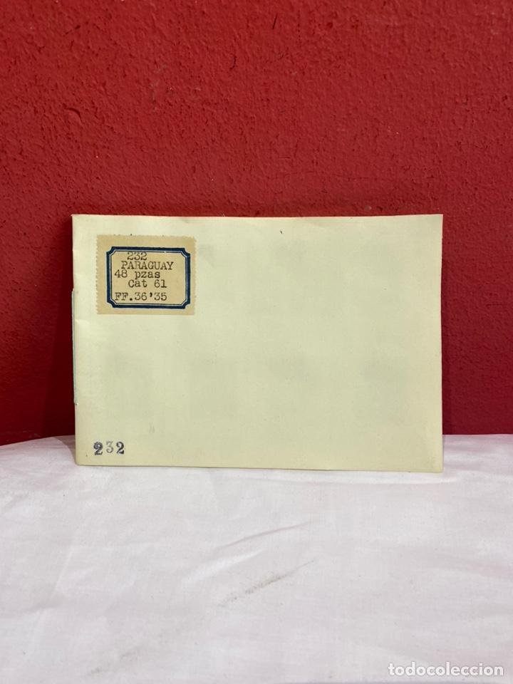 Sellos: Antiguo álbum sellos PARAGUAY catalogados . - Foto 2 - 261922305