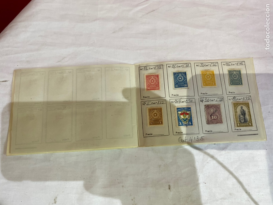 Sellos: Antiguo álbum sellos PARAGUAY catalogados . - Foto 6 - 261922305