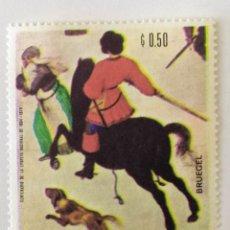 Sellos: SELLO DE PARAGUAY 0,50 G - 1968 - BRUEGUEL - NUEVO SIN SEÑAL DE FIJASELLOS. Lote 262062840