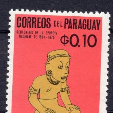 Sellos: PARAGUAY , 1965 , STAMP , , MICHEL 1535. Lote 262459225