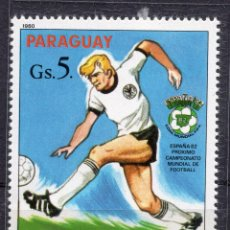Sellos: PARAGUAY , 1980 , STAMP , , MICHEL 3329. Lote 262461165