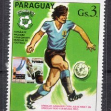 Sellos: PARAGUAY , 1980 , STAMP , , MICHEL 3327. Lote 262461570