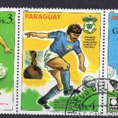 Sellos: PARAGUAY , 1980 , STAMP , , MICHEL 3327-3328-3329. Lote 262461740