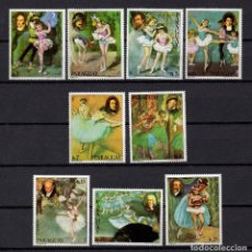 Sellos: PARAGUAY 1763/69 Y AEREO 839/40** - AÑO 1980 - MUSICA - COMPOSITORES Y MUSICOS. Lote 271356448